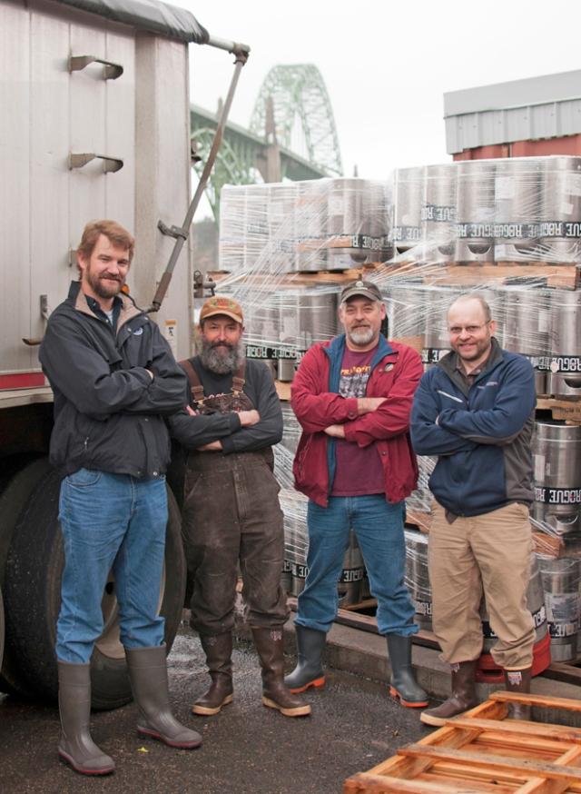 Class of 88 Rogue Ales Newport Oregon Deschutes Brewery North Coast Brewery John Maier Yaquina Bay Bridge
