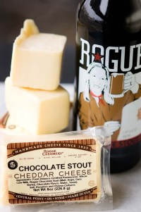 Chocolate Stout and Cheddar