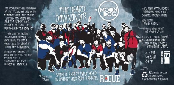 The Beard Downunder Label