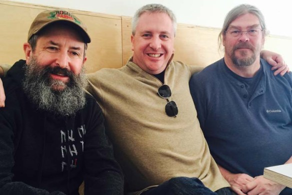 The Beard with Arlen Harris and Drew Culey at Holy Mountain Brewing.