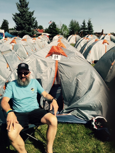 John Tent Yellowstone Ride Aug 2015